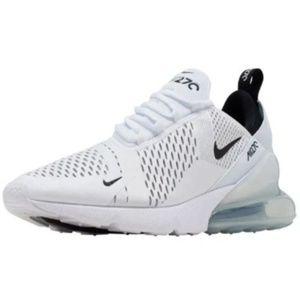 Women Nike Air Max 270 All White New